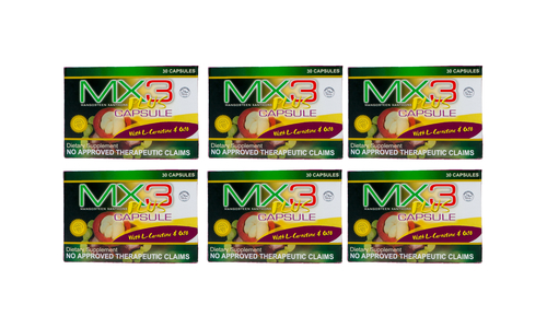 Booster Item- 6 boxes MX3 Plus