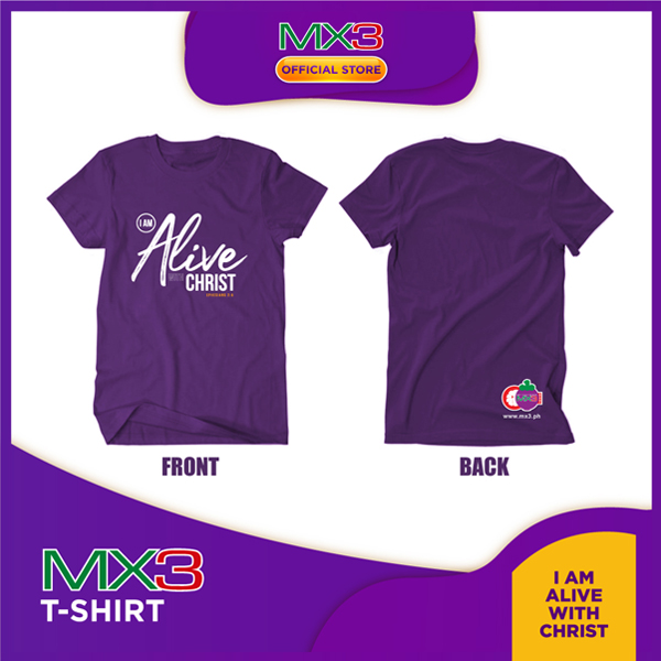 MX3 T-shirt: Alive