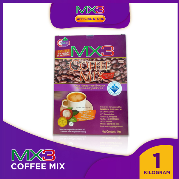 MX3 Coffee Mix in 1-Kilo Pack