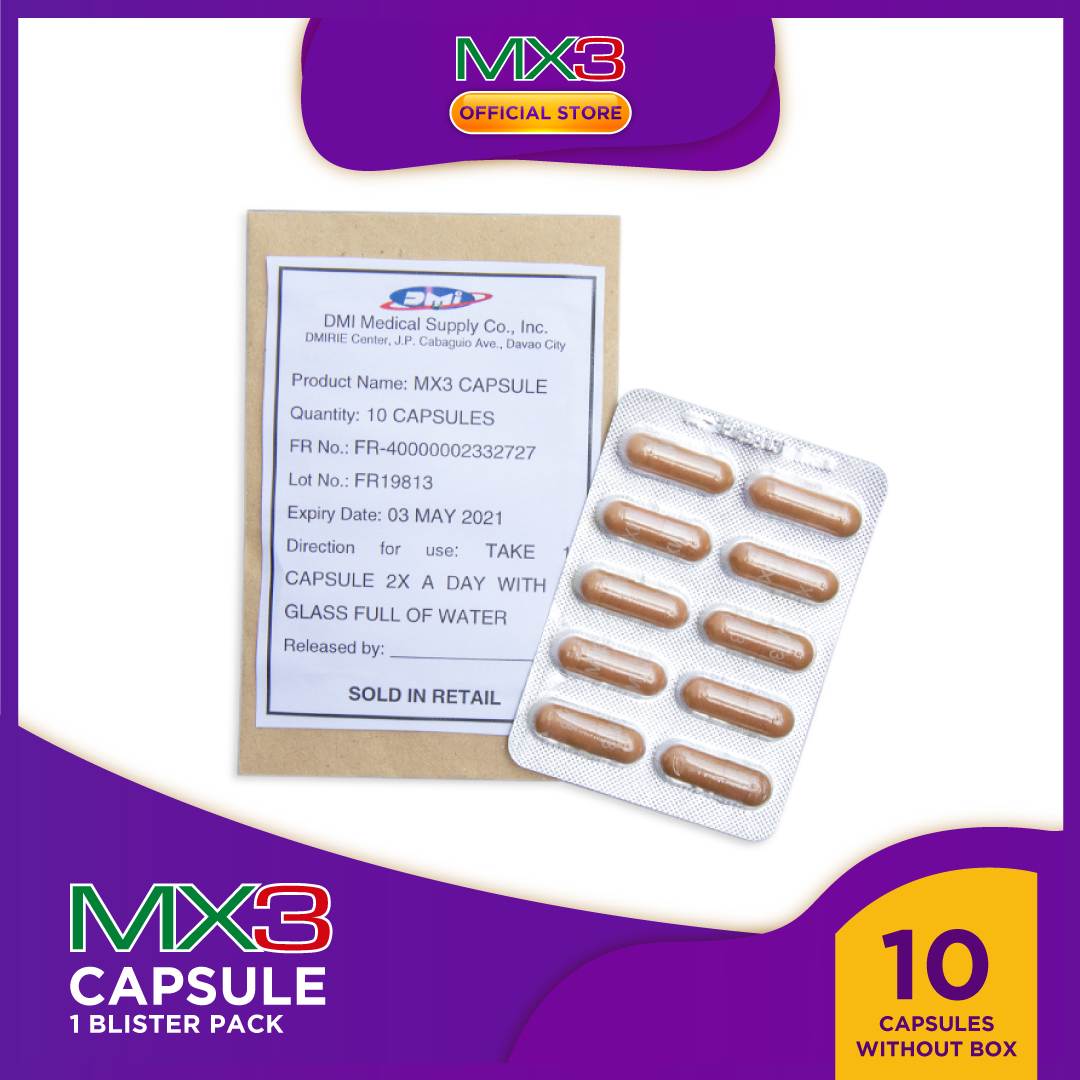 MX3 Capsule 1 Blister Pack
