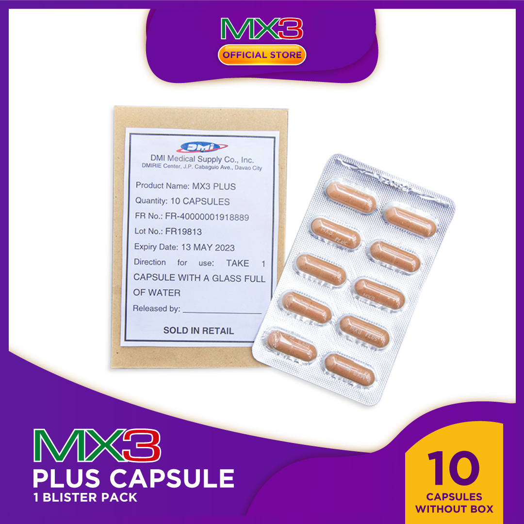 MX3 Plus 1 Blister Pack